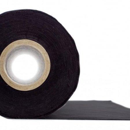 Zwarte decomolton 300cm breed. Branwerend geinpregneerd