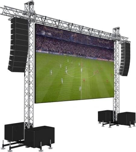 Verhuur modulair LED scherm