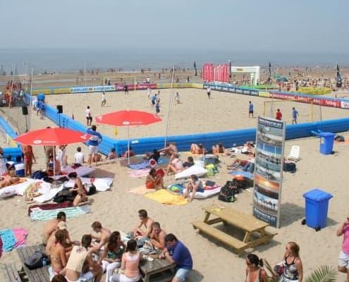 Verhuur geluidsinstallatie - NK Beachsoccer Wijk aan Zee