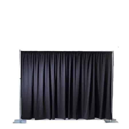Verhuur pipe & drape 2,5 meter x 3 meter - (250cmx300cm)