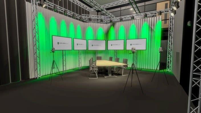Livestream event ABN AMRO vanuit studio