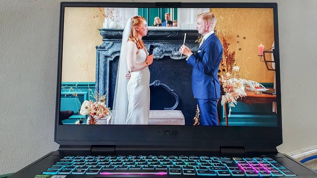 Huwelijk livestreamen