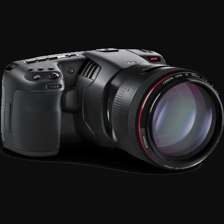 Verhuur blackmagic Pocket Cinema 6K camera