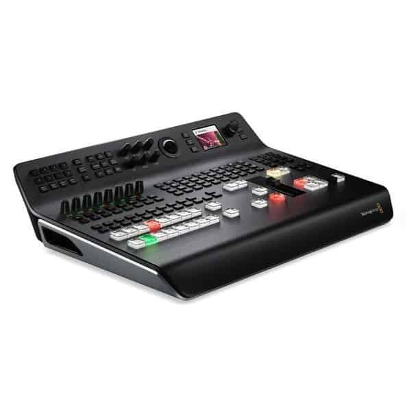 Verhuur Blackmagic Atem Television studio 4K videomixer (zijaanzicht)