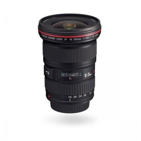 Verhuur Canon 16-35mm lens