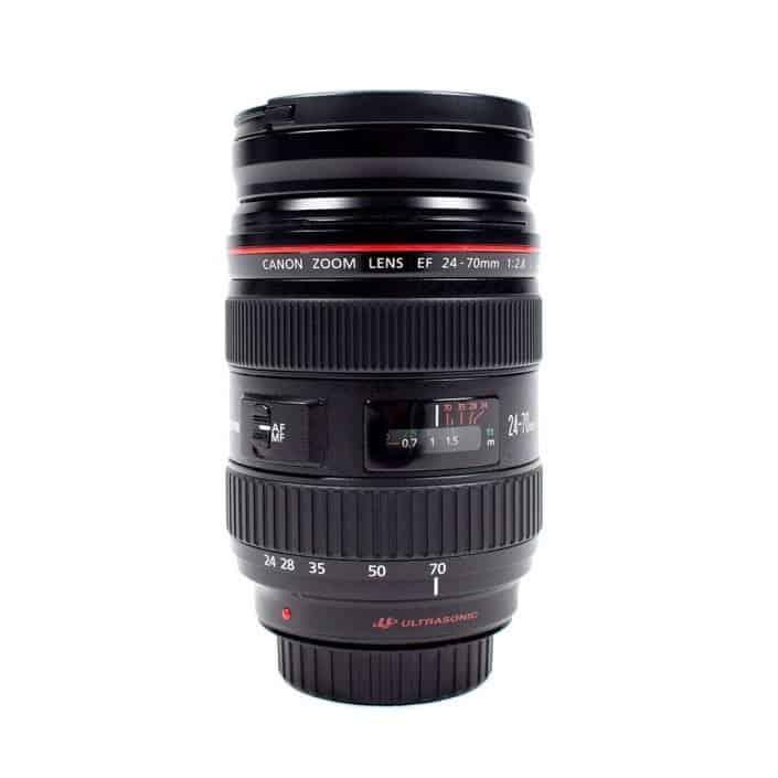 Verhuur Canon-24-70 mm lens
