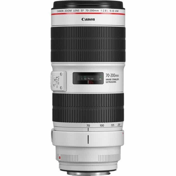 Verhuur Canon 70-200 mm lens