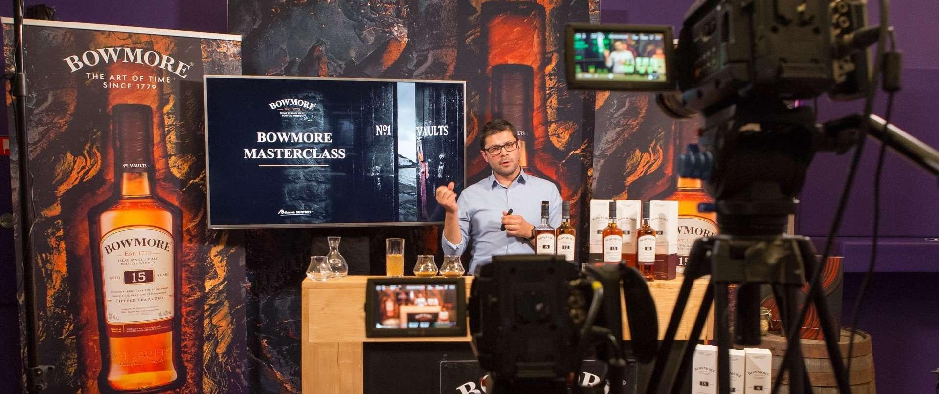 Livestream - Online Tasting - Bowmore Wiskey