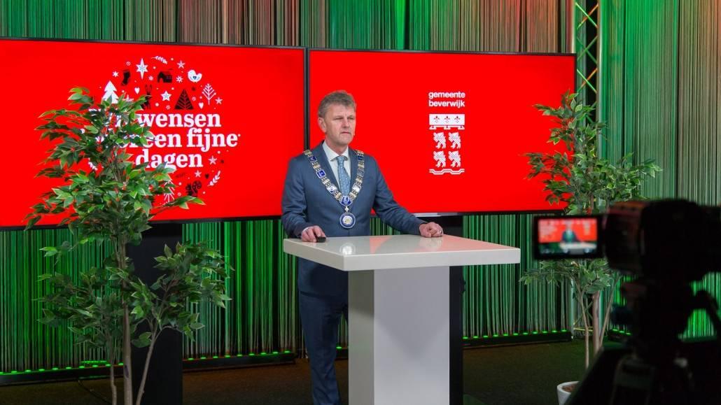 Livestream Studio - Burgemeester Beverwijk