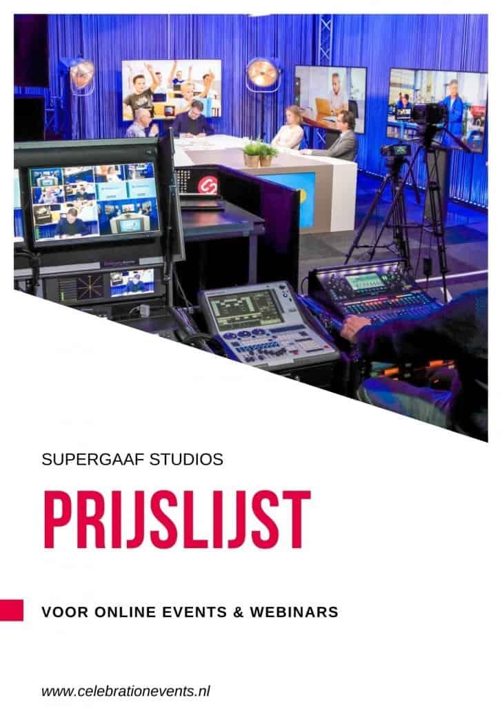 Prijslijst Supergaaf studio