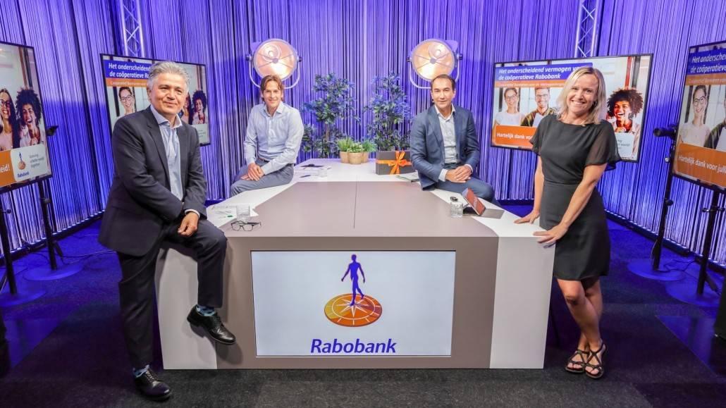 Webinar Ledenraad Rabobank - Tafeldiscussie in de Supergaaf Studio